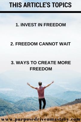 Freedom - Purpose Driven Mastery