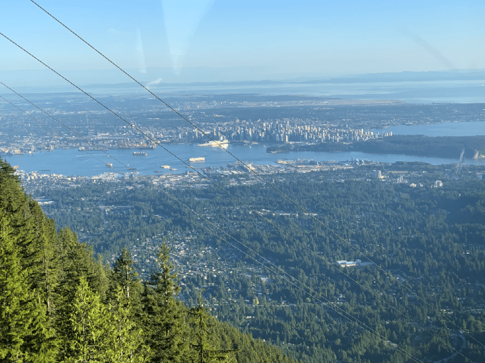 View of the Grouse Grind