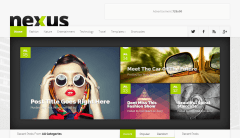 Nexus Homepage Slider
