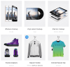 Shop page with WooCommerce