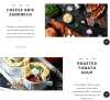 Blog Page of Rosa theme