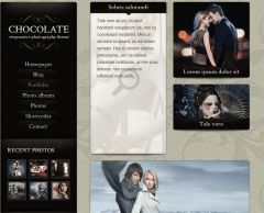 Portfolio-Chocolate-WordPress