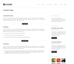 Sample-page-aware