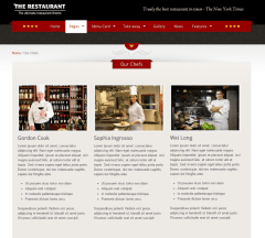 The Restaurant – Our chefs