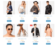 Total- Shop page with this theme