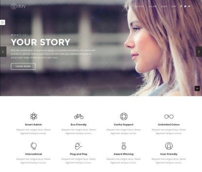 Story- A multipurpose theme