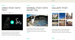 Fullby theme news page