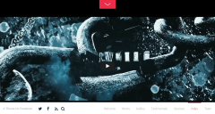 Fullpane- Fullscreen Videos are also supported by this theme