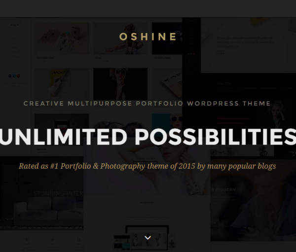 Oshine_Creative Multi-Purpose WordPress Theme
