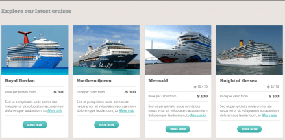 BookYourTravel- Latest cruise lists