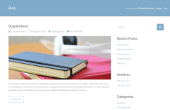 Ample Blog Page