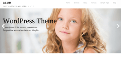 Aron Home Page WordPress