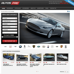 Autos Pro- A responsive WordPress theme for online sale of automobiles