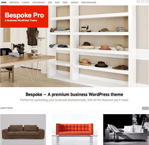 Bespoke Pro- A premium business WordPress theme