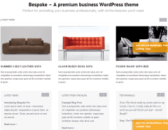 Bespoke Pro- Front page content built with visual composer elements