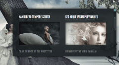 Blog page of Gleam theme