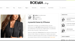 Boemia- Classic blog page layout