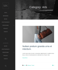 Category-WordPress-theme