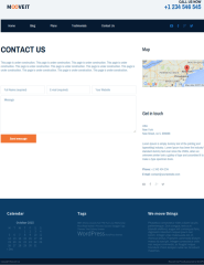 Contact-pge-WordPress-theme