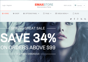 EmaxStore - WordPress eCommerce Theme