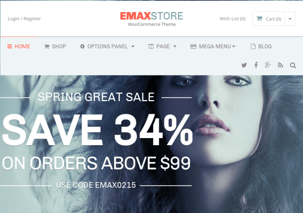 EmaxStore – WordPress eCommerce Theme