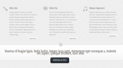 Envisioned- Front page's content built with shortcodes