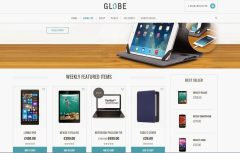 GLOBE  free ecommerce wordpress themes