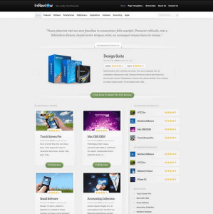InReview - It will fully turn your blog into reviewing site