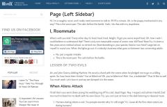 Left-Sidebar-Page
