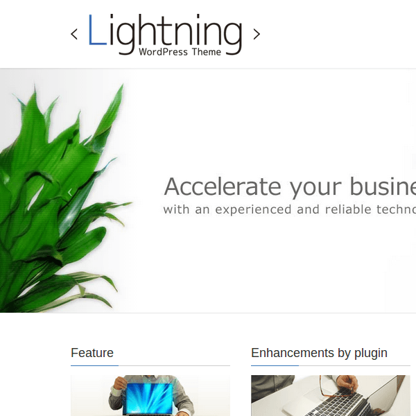 Lightning - WordPress Theme