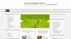 Magnificent-blogger-template