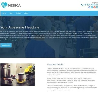 Medica-Lite-Wordpress-theme