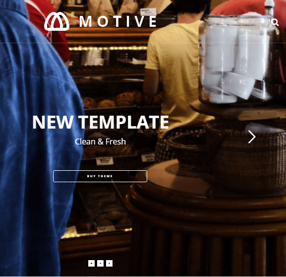 Motive – – Motive is a clean, modern, creative WordPress Theme