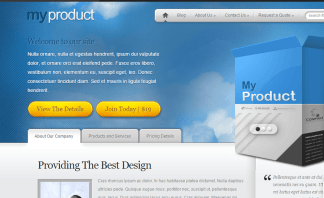 MyProduct theme - Displaying products and services online