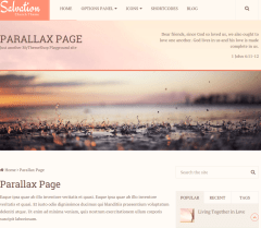 Parallax Page