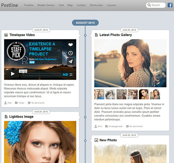 Postline – Best Responsive WordPress theme.