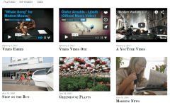 Simfo- Feature your latest posts, videos on front page with this subtle layout