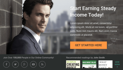 SteadyIncome Home Page
