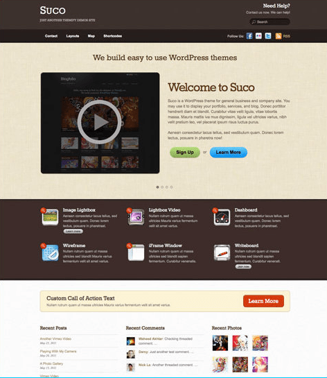 Suco – The first Business theme