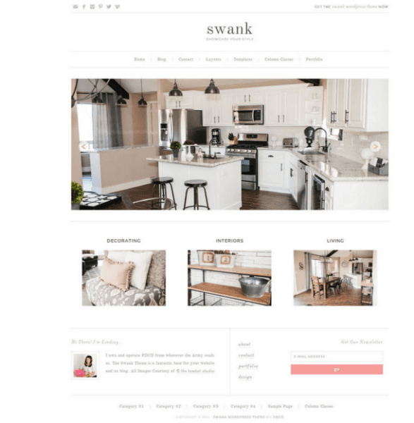 Swank Theme – Business WordPress theme