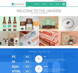 Universe - Multipurpose WordPress theme