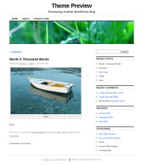 WOrdpress-Theme-Coraline