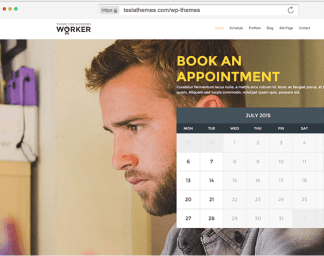 Worker - Small Business Booking WordPress Theme