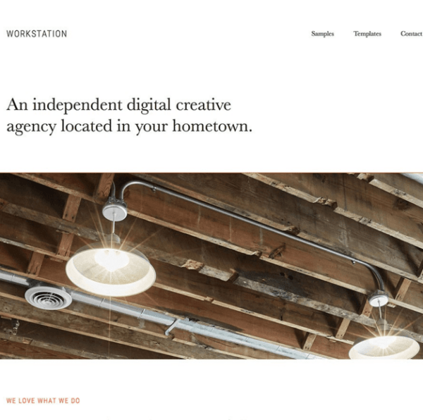 Workstation Pro - Creative agency WordPress theme