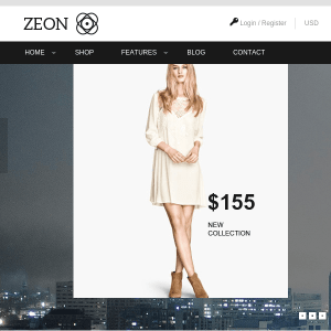 Zeon - eCommerce WordPress Theme