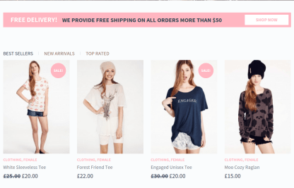 eCommerce Offer Page