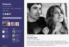 sidepane-WordPress-theme