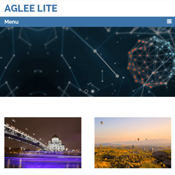 Aglee Lite WordPress Theme