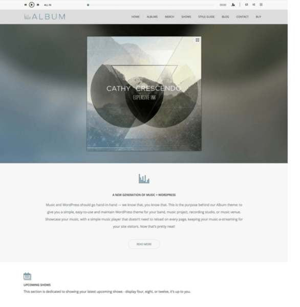 Album – Perfect theme for Musicians