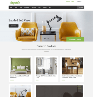 Aquisto - WordPress Ecommerce theme